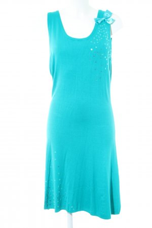 Blutsgeschwister Midi Dress turquoise casual look