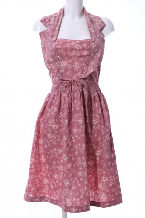Blutsgeschwister Halter Dress pink-white allover print casual look