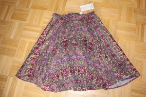 Blutsgeschwister Flared Skirt multicolored cotton