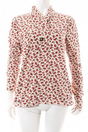 Blutsgeschwister Shirt florales Muster Casual-Look