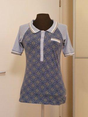 Blutsgeschwister Polo Shirt multicolored cotton