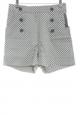 Blutsgeschwister Shorts taupe-natural white zigzag pattern street-fashion look