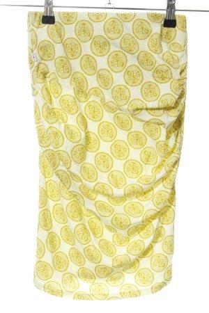 Blutsgeschwister Stretch Skirt primrose-white allover print casual look