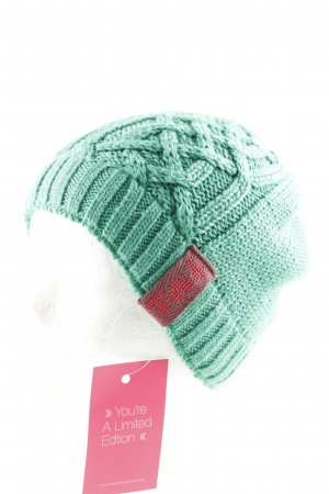 Blutsgeschwister Knitted Hat grass green casual look