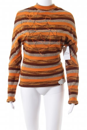 Blutsgeschwister Knitted Sweater multicolored casual look