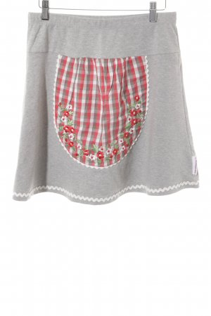 Blutsgeschwister Circle Skirt check pattern casual look