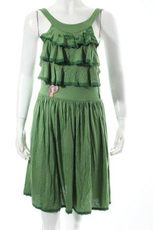 Blutsgeschwister Trägerkleid grün extravaganter Stil