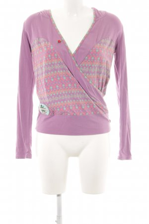 Blutsgeschwister V-Neck Sweater allover print casual look