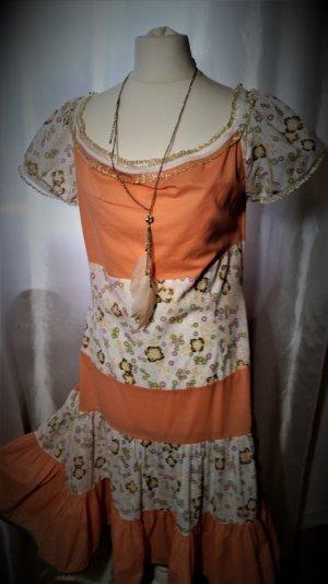 Blutsschwester Frisches Gold Sommerkleid L 42 neuwertig