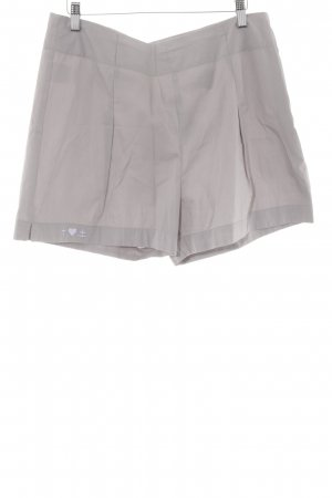 Blutsschwester High-Waist-Shorts grau Casual-Look