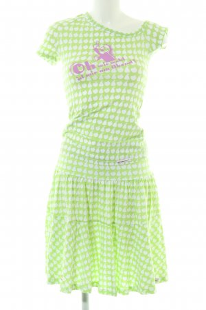 Blutsschwester Twin Set tipo suéter green-white allover print casual look