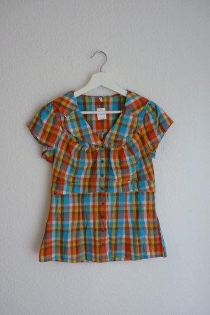 Blutsschwester kurzarm Bluse Shirt S 36 *NEU* Hippie Indie Boho Blogger Fashion