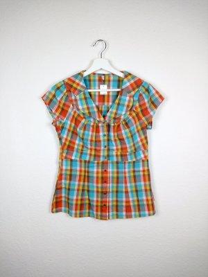 blutsschwester kurzarm bluse shirt S 36 -NEU- hippie indie boho blogger fashion