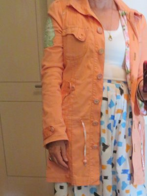 Blutsschwester SCHWÄN FRäNZISKA Parka Mantel Apricot Baumwolle Gr. M für den Übergang