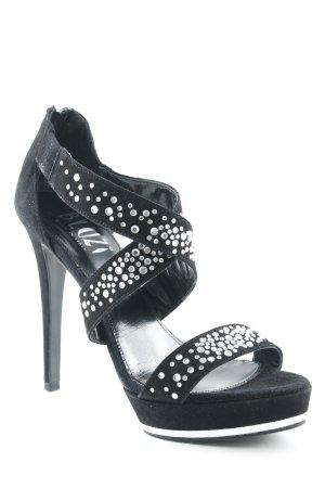 Bluzi High Heels schwarz extravaganter Stil