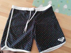 Roxy Swimming Trunk white-black