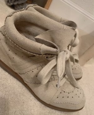 Isabel Marant Wedge Sneaker oatmeal