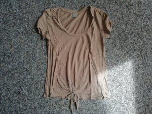 Bobi Shirt beige mit Schleife S