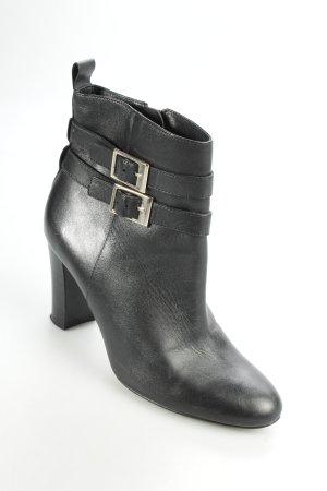 Bocage Reißverschluss-Stiefeletten schwarz schlichter Stil