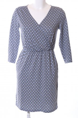 Boden A-Linien Kleid abstraktes Muster Business-Look