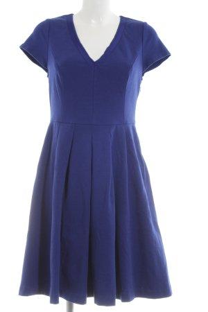 Boden A-Linien Kleid blau Business-Look