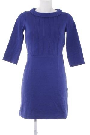 Boden A-Linien Kleid blau Elegant