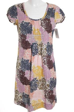 Boden A-Linien Kleid Blumenmuster Casual-Look