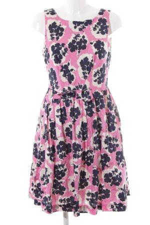 Boden A-Linien Kleid florales Muster Elegant
