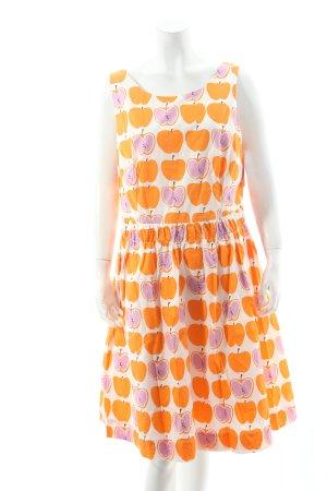 Boden A-Linien Kleid Motivdruck extravaganter Stil