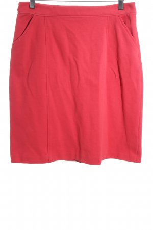 Boden Bleistiftrock rot Casual-Look