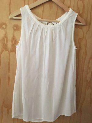 Boden Bluse weiß elegant
