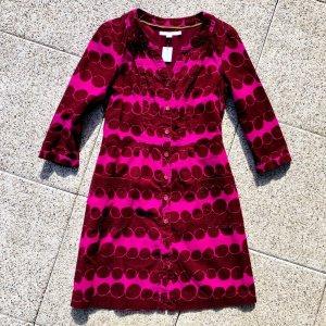 BODEN Blusenkleid mit Retro-Muster in kräftigen Farben