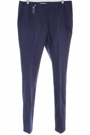 Boden Bundfaltenhose dunkelblau Business-Look