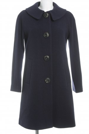 Boden Heavy Pea Coat dark blue business style