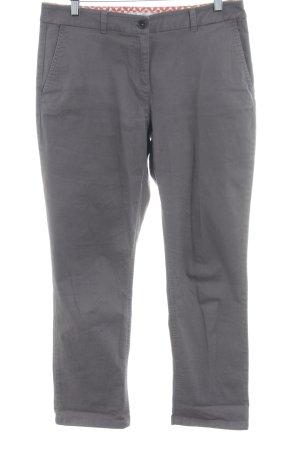 Boden Pantalón capri gris oscuro estilo sencillo