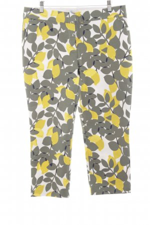 Boden Chinohose Blumenmuster Casual-Look