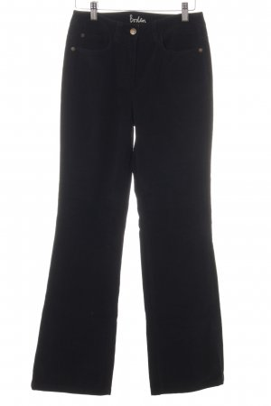 Boden Corduroy Trousers black casual look