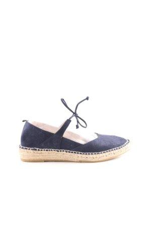Boden Espadrilles-Sandalen blau Casual-Look