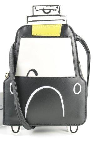 Boden Handtasche weiß-schwarz Casual-Look