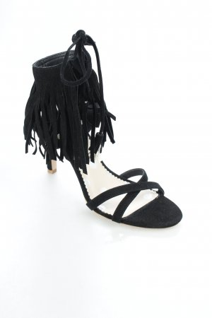 Boden High Heel Sandaletten schwarz Party-Look