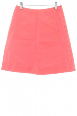 Boden Falda de talle alto rojo claro-salmón look «Brit»
