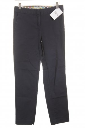 Boden Lage taille broek donkerblauw casual uitstraling