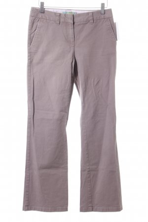 Boden Lage taille broek grijs-lila casual uitstraling