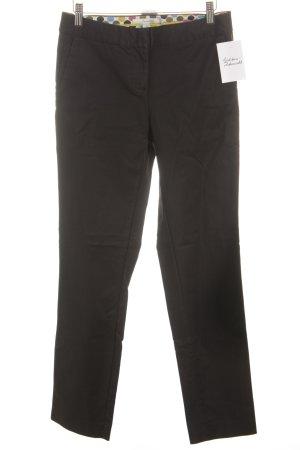 Boden Lage taille broek zwart casual uitstraling