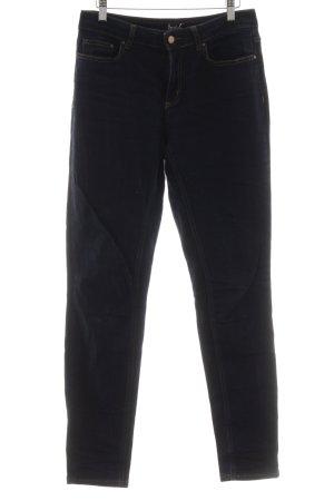 Boden Hüftjeans dunkelblau Jeans-Optik