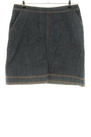 Boden Jupe en jeans gris clair style décontracté