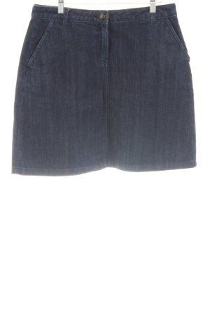 Boden Denim Skirt blue flecked casual look