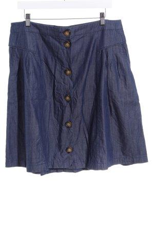 Boden Jeansrock dunkelblau-graublau Casual-Look