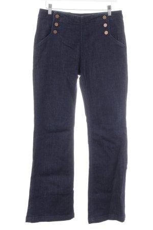 Boden Jeansschlaghose dunkelblau Vintage-Look