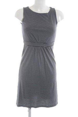 Boden Jerseykleid blau-weiß Streifenmuster Casual-Look